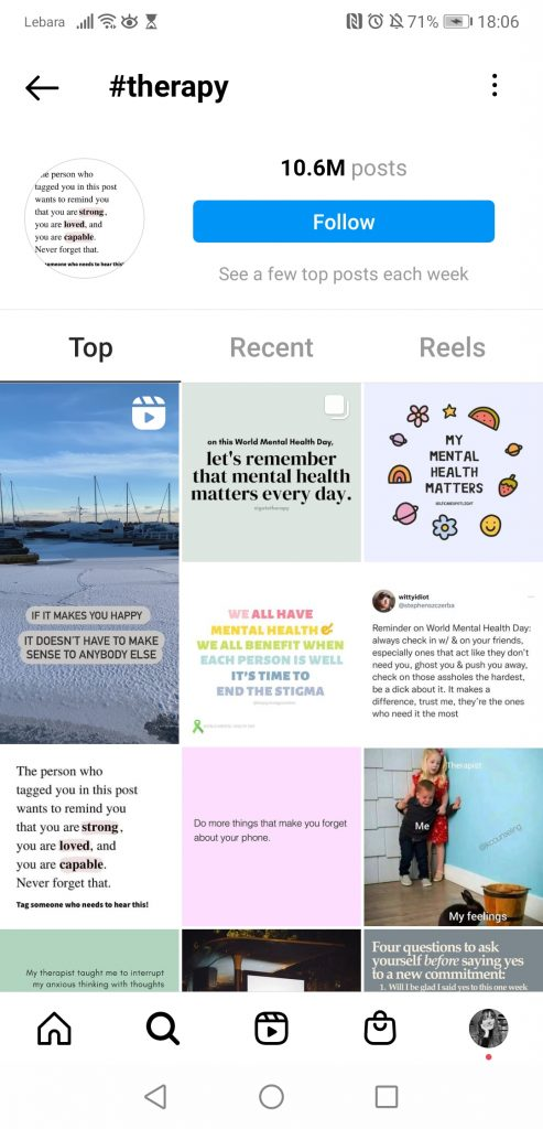 screenshot-therapy-hashtag-instagram